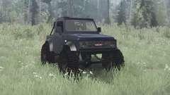 Suzuki Samurai 1990 crawler для MudRunner