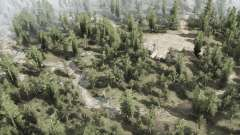 Birchwood Outlands для MudRunner