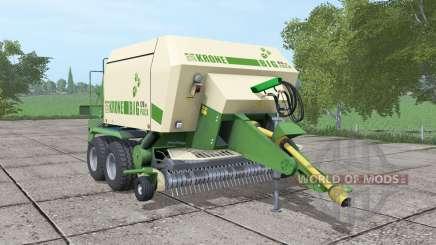Krone BiG Pack 120-80 v2.2 для Farming Simulator 2017
