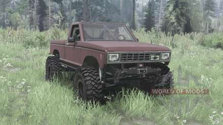 Ford Ranger 1982 lifted для MudRunner