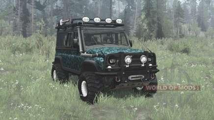 УАЗ 3153 офф-роуд для MudRunner