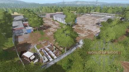 Село Молоково v1.7.9 для Farming Simulator 2017