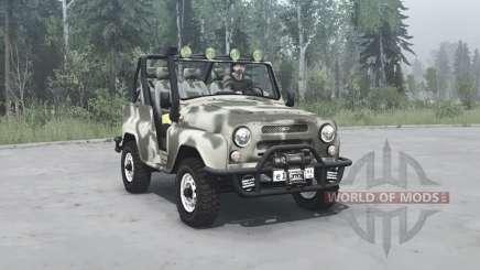 УАЗ 3150 Шалун v1.1 для MudRunner