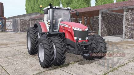 Massey Ferguson 8732 new sound для Farming Simulator 2017