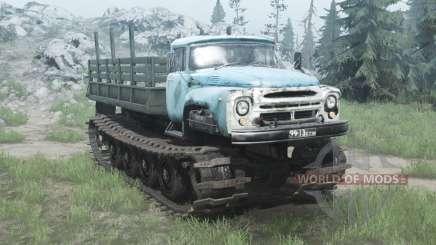 В-1 Витязь опытный 1967 v1.1 для MudRunner