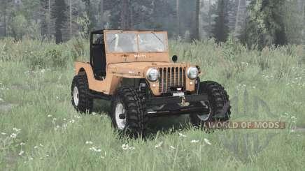 Jeep CJ-2A 1945 для MudRunner