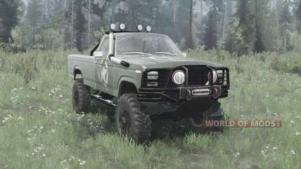 Ford F-150 Ranger 1982 lifted для MudRunner
