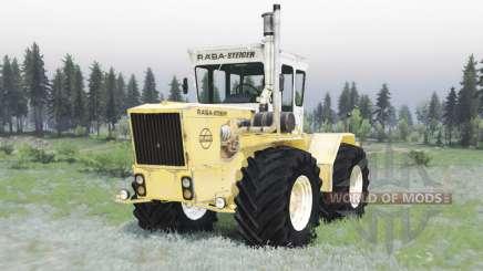 RABA Steiger 250 yellow-white для Spin Tires