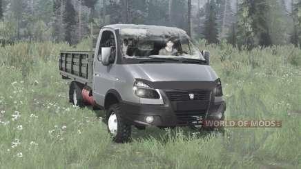 ГАЗ 33027 ГАЗель Бизнес 4x4 2003 для MudRunner