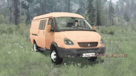 ГАЗ 2705 ГАЗель 2003 для MudRunner
