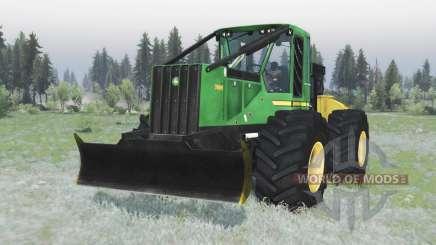 John Deere 748H v1.1 для Spin Tires