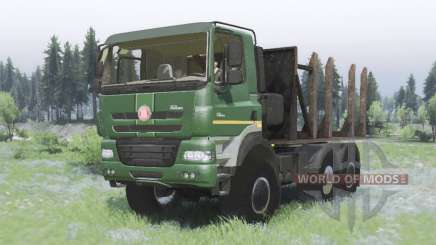 Tatra Phoenix T158-8P5 6x6 2011 для Spin Tires