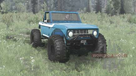 Ford Bronco crawler для MudRunner