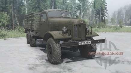 ЗиЛ 157К 1962 для MudRunner