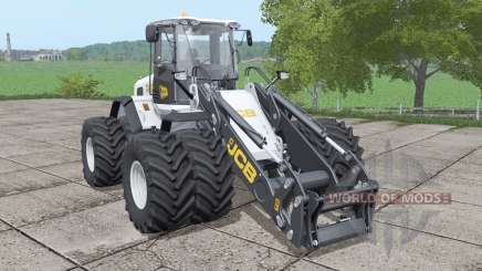JCB 435S double wheels v1.0.0.1 для Farming Simulator 2017