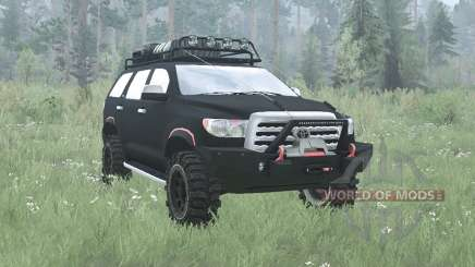 Toyota Sequoia 2008 off-road v2.0 для MudRunner