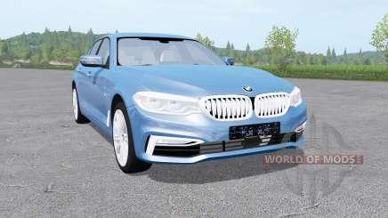 BMW 540i xDrive sedan (G30) 2017 v1.0.0.1 для Farming Simulator 2017