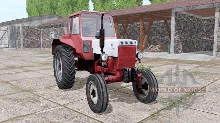 МТЗ 80 Беларус красно-белый для Farming Simulator 2017
