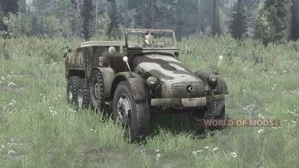 Krupp L 2 H 43 Kfz.70 v2.0 для MudRunner
