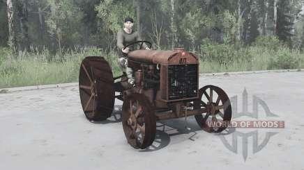Фордзон-Путиловец для MudRunner