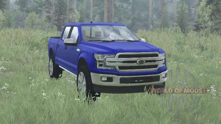 Ford F-150 Lariat SuperCrew 2017 для MudRunner