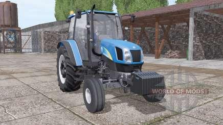 New Holland T5040 v1.1 для Farming Simulator 2017