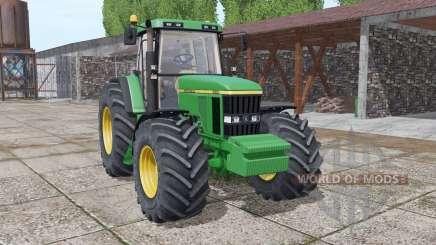 John Deere 7610 interactive control v2.0 для Farming Simulator 2017