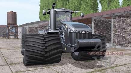 Challenger MT955E 1250hp black для Farming Simulator 2017