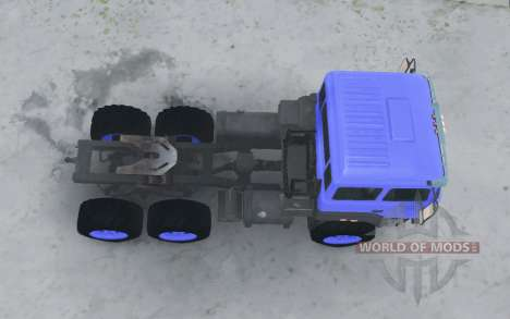 Урал 44202-3511-80 v3.0 для Spintires MudRunner