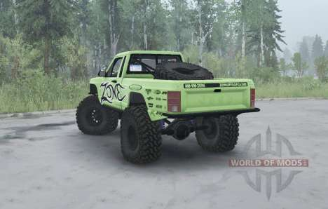 Jeep Comanche (MJ) 1984 lifted для Spintires MudRunner