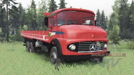 Mercedes-Benz L 1216 v2.0 для Spin Tires