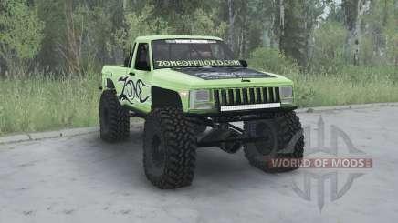 Jeep Comanche (MJ) 1984 lifted для MudRunner